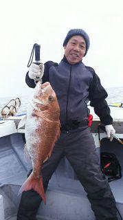 真鯛76�p  5、5キロ